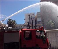 السيطرة على حريق بمنطقة فيصل دون إصابات