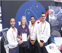 3 شباب يصلون الفضاء بـ«قمر صناعى»