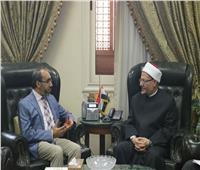 مفتي الجمهورية يستقبل سفير أفغانستان لبحث تعزيز التعاون الديني