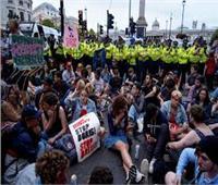 تظاهرات احتجاجية في لندن ضد الخروج من الاتحاد الأوروبي من دون اتفاق