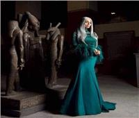 فيديو| إطلالة «سوسن بدر» بـ«ليلة في المتحف» تبهر الجمهور