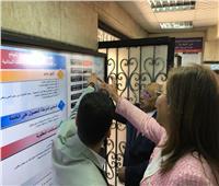 مستشار وزير التخطيط  يشرح تقنيات المركز التكنولوجي بحي المطرية