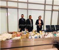 جمارك مطار القاهرة الدولي تضبط محاولة تهريب كمية من مستحضرات التجميل