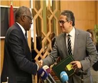 توقيع بروتوكول تعاون بين مصر وغينيا في مجال العمل الأثري