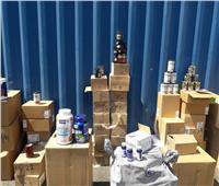 صور| إحباط تهريب أدوية وأجهزة لاسلكي بميناء الإسكندرية