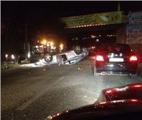 إصابة 6 أشخاص في حادث تصادم ببني سويف