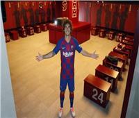 اشتعال غرف الملابس في برشلونة
