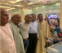 صور|سيد عبد الحفيظ يحضر فرح بالفيوم متحديًا رئيس الزمالك
