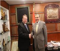 تفاصيل لقاء وزير القوى العاملة مع مدير مكتب منظمة العمل الدولية بالقاهرة