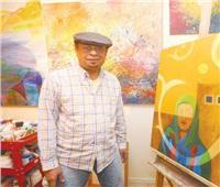 اليونسكو تحتفي بـ30 لوحة لفنان سعودي في جنيف