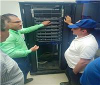 افتتاح غرفة البيانات الرقمية في جامعة العريش