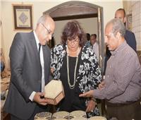 وزير الثقافة تسلم شهادات تخرج الدفعة التاسعة من منحة بيت جميل للحرف التقليدية
