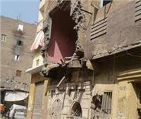 إخلاء منزل من 3 طوابق بعد انهيار جزئي بقها دون خسائر بشرية