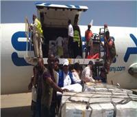 وصول طائرة كويتية ثالثة تحمل مساعدات إنسانية إلى السودان