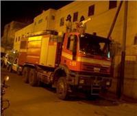 تفاصيل حريق بسكن طالبات في أسوان
