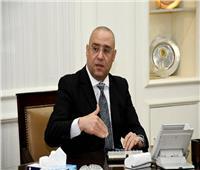 وزير الإسكان ومحافظ سوهاج يتفقدان محطة صرف صحى المنشأة وأولاد حمزة