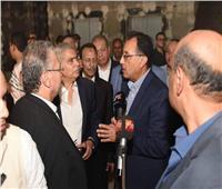 مدبولي يستمع لمطالب نواب وقيادات محافظة المنيا