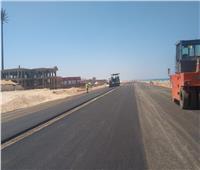 محافظ مطروح: رصف وتطوير طريق «كورنيش الأبيض الجديد»