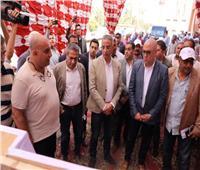 وزير الإسكان يتفقد الأعمال الإنشائية لمحطة مياه إدفا بسوهاج