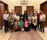 الأنبا باخوم يجتمع بمسئولي الأنشطة الرسولية بالإيبارشية