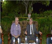 وزير الإسكان يتفقد المشروعات بمدينتي ناصر وأسيوط الجديدة