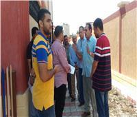 محافظ شمال سيناء يتابع استعدادات المدارس بالعريش للعام الدراسي الجديد