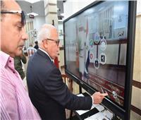 محافظ بورسعيد يتفقد المركز التكنولوجي المتطور ببورفؤاد