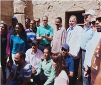 القائم بأعمال السفير الأمريكي: الشراكة مع الآثار تحقق الازدهار لمصر