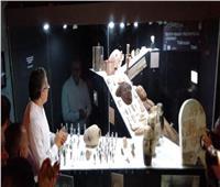 وزير الآثار يفتتح معرض «جبانة جنوب العساسيف.. رحلة عبر الزمن»