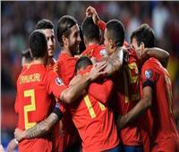 شاهد  إسبانيا تسحق جزر فارو برباعية وتقترب من «يورو 2020»