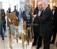 زاهي حواس يفتتح متحف توت عنخ آمون بالبرازيل