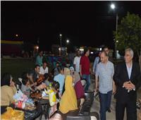 محافظ المنيا يلتقي أصحاب الوحدات بمشروع «شارع مصر»