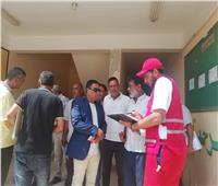 توزيع المستلزمات التعليمية على مدارس الشيخ زويد
