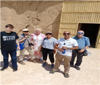 المنيا تستقبل وفود 3 جنسيات لزيارة المعالم الأثرية والسياحية