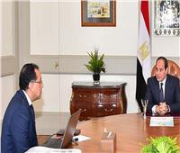 السيسي يلتقي مدبولي لمتابعة خطة الإصلاح الشامل للجهاز الإداري للدولة