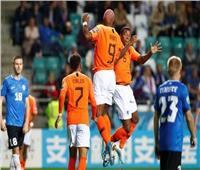 شاهد  هولندا تحقق فوزًا ثمينًا على إستونيا في تصفيات يورو 2020