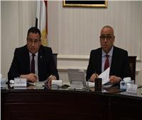 وزير الإسكان ومحافظ الإسكندرية يتابعان تنفيذ مشروع تطوير محور المحمودية