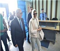 محافظ بورسعيد يستقبل وزيرة الصحة لمتابعة تطبيق التأمين الصحي الشامل الجديد