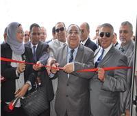 رئيس جامعة حلوان يفتتح المرحلة الأولى من تطوير مستشفى بدر الجامعي