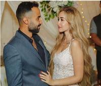 صورة| إيمي طلعت زكريا تهنئ هنا الزاهد قبل زواجها من أحمد فهمي