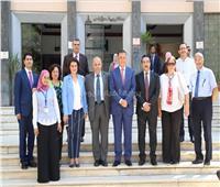 افتتاح الجناح التعليمي لقسم القلب بمستشفي الباطنة بجامعة عين شمس