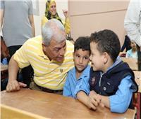 محافظ المنوفية يفتتح مدرسة عبدالله شاهين للتعليم الأساسي بصنصفط بمنوف