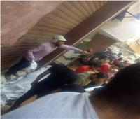 بالأسماء.. ننشر مصابي وضحايا حادث انقلاب ميكروباص من أعلى محور صفط اللبن