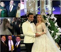 صور| «وسط النجوم».. إطلالة جذابة لهنا الزاهد في حفل زفافها
