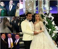 صور لم ترها من قبل.. حفل زفاف أحمد فهمي وهنا الزاهد