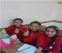 صور| مدارس القاهرة الجديدة تستقبل الطلاب في العام الدراسي الجديد