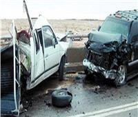 مصرع وإصابة ٣ من أسرة واحدة أثناء عبورهم طريق القاهرة- الإسكندرية الصحراوي