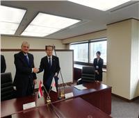 النائب العام يوقع المذكرة الأولى للتعاون القضائي مع نظيره الياباني