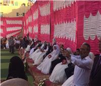 حفل زفاف جماعي لـ20 عريسًا وعروسة بالزقازيق