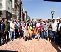 وزير الإسكان يتفقد تنفيذ ٦٧٢٠ وحدة سكنية بمشروع «JANNA» بـ ٦ أكتوبر